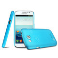 IMAK Ultrathin Matte Color Cover Hard Case for Samsung i9128V i9128 i879 - Blue