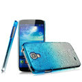 Imak Colorful raindrop Case Hard Cover for Samsung GALAXY S4 I9500 SIV - Gradient Blue