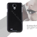 Nillkin Colourful Hard Case Skin Cover for Samsung GALAXY S4 I9500 SIV - Black