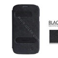 Nillkin EASY leather Case Holster Cover Skin for Samsung i9080 i9082 Galaxy Grand DUOS - Black