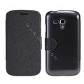 Nillkin Fresh leather Case Bracket Holster Cover Skin for Samsung i8262D GALAXY Dous - Black