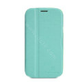 Nillkin Fresh leather Case Bracket Holster Cover Skin for Samsung i879 - Green