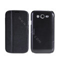 Nillkin Fresh leather Case Bracket Holster Cover Skin for Samsung i9080 i9082 Galaxy Grand DUOS - Black