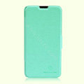 Nillkin Fresh leather Case Bracket Holster Cover Skin for ZTE N983 - Green