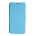 Nillkin Fresh leather Case Bracket Holster Cover Skin for ZTE V987 - Blue