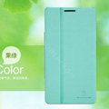 Nillkin Fresh leather Case button Holster Cover Skin for HUAWEI Ascend Mate X1 - Green