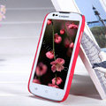 Nillkin Super Matte Hard Case Skin Cover for Coolpad 5890 - Red