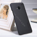 Nillkin Super Matte Hard Case Skin Cover for HTC One M7 801e - Black