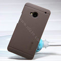 Nillkin Super Matte Hard Case Skin Cover for HTC One M7 801e - Brown