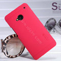 Nillkin Super Matte Hard Case Skin Cover for HTC One M7 801e - Red