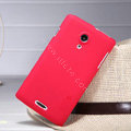 Nillkin Super Matte Hard Case Skin Cover for Lenovo S868t - Red