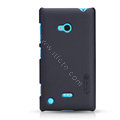 Nillkin Super Matte Hard Case Skin Cover for Nokia Lumia 720 - Black