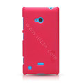Nillkin Super Matte Hard Case Skin Cover for Nokia Lumia 720 - Red