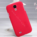 Nillkin Super Matte Hard Case Skin Cover for Samsung GALAXY S4 I9500 SIV - Red