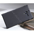 Nillkin Super Matte Hard Case Skin Cover for Sony L35h Xperia ZL - Black