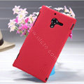 Nillkin Super Matte Hard Case Skin Cover for Sony L35h Xperia ZL - Red