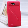 Nillkin Super Matte Hard Case Skin Cover for ZTE V987 - Red