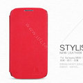 Nillkin leather Case Holster Cover Skin for Samsung GALAXY S4 I9500 SIV - Red