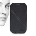 Nillkin leather Case Holster Cover Skin for Samsung i9080 i9082 Galaxy Grand DUOS - Black