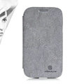 Nillkin leather Case Holster Cover Skin for Samsung i9080 i9082 Galaxy Grand DUOS - Gray