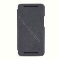 Nillkin leather Case Holster Cover Skin for The new HTC One M7 801e - Black