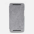 Nillkin leather Case Holster Cover Skin for The new HTC One M7 801e - Gray