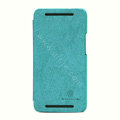 Nillkin leather Case Holster Cover Skin for The new HTC One M7 801e - Green