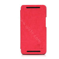 Nillkin leather Case Holster Cover Skin for The new HTC One M7 801e - Red