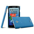 IMAK Cowboy Shell Hard Case Matte Cover for Lenovo S868t - Blue