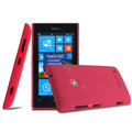 IMAK Cowboy Shell Hard Case Matte Cover for Nokia Lumia 520 - Rose