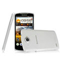 IMAK Crystal Case Hard Cover Transparent Shell for Lenovo S920 - White