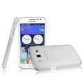 IMAK Crystal Case Hard Cover Transparent Shell for Samsung i8552 Galaxy Win - White