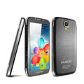IMAK Mirror Battery Cover One-piece leather Case for Samsung GALAXY S4 I9500 SIV - Black