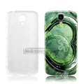 IMAK Relievo Painting Case Lover Battery Cover for Samsung GALAXY S4 I9500 SIV - Green