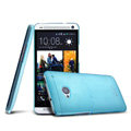 IMAK Ultrathin Clear Matte Color Cover Case for HTC One M7 801e - Blue