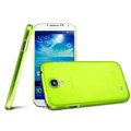 IMAK Ultrathin Clear Matte Color Cover Case for Samsung GALAXY S4 I9500 SIV - Green