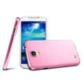 IMAK Ultrathin Clear Matte Color Cover Case for Samsung GALAXY S4 I9500 SIV - Pink