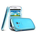 IMAK Ultrathin Clear Matte Color Cover Case for Samsung i8190 GALAXY SIII Mini - Blue