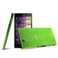 IMAK Ultrathin Clear Matte Color Cover Case for Sony Ericsson L36i L36h Xperia Z - Green