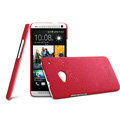 IMAK Ultrathin Matte Color Cover Hard Case for HTC One 802t - Rose