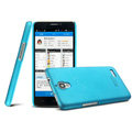 IMAK Ultrathin Matte Color Cover Hard Case for TCL S820 - Blue