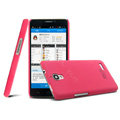 IMAK Ultrathin Matte Color Cover Hard Case for TCL S820 - Rose