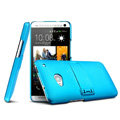 IMAK Ultrathin Matte Color Cover Support Case for HTC One 802t 802w 802d - Blue