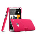 IMAK Ultrathin Matte Color Cover Support Case for HTC One 802t 802w 802d - Rose