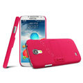 IMAK Ultrathin Matte Color Cover Support Case for Samsung GALAXY S4 I9500 SIV - Rose