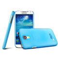 IMAK Water Jade Shell Hard Cases Covers for Samsung GALAXY S4 I9500 SIV - Blue