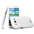 IMAK Water Jade Shell Hard Cases Covers for Samsung i8552 Galaxy Win - White