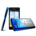 Imak Colorful raindrop Case Hard Cover for Huawei C8813 - Gradient Blue