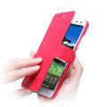 Nillkin Fresh leather Case Bracket Holster Cover Skin for BBK vivo Xplay X510w - Red