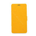 Nillkin Fresh leather Case Bracket Holster Cover Skin for BBK vivo Xplay X510w - Yellow